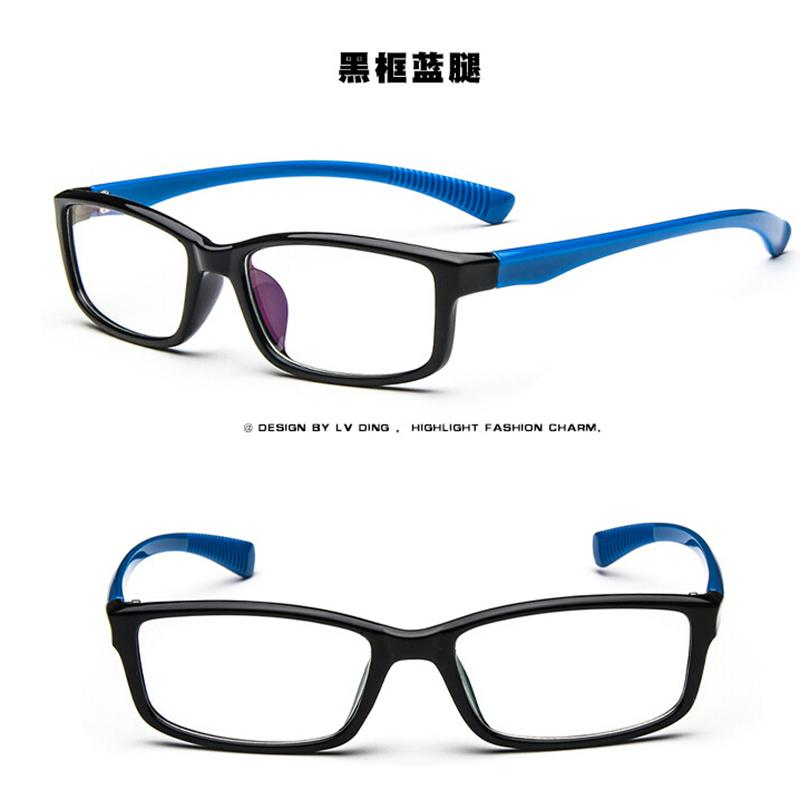 Glasses Frames Unisex : Unisex Sports Eyeglass Frames Optical Eyewear Clear Lens ...