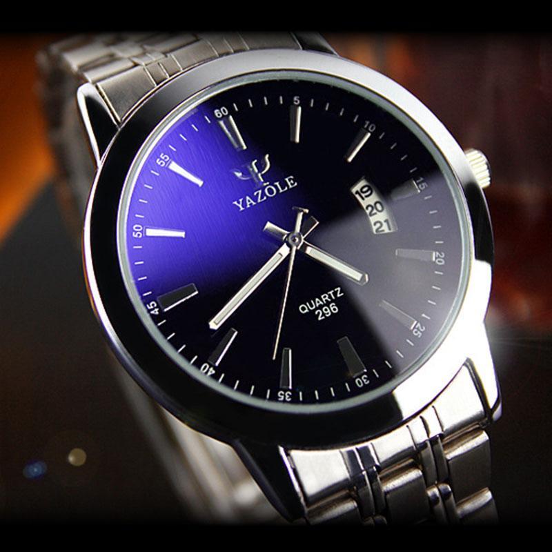 Watch ! Luxury Stainless Steel Men's Date Quartz Analog ...