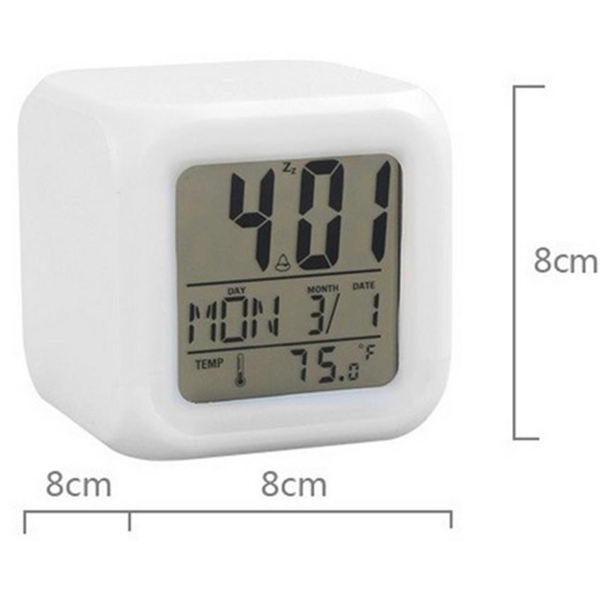 mini digital alarm led clock snooze light control time. Black Bedroom Furniture Sets. Home Design Ideas