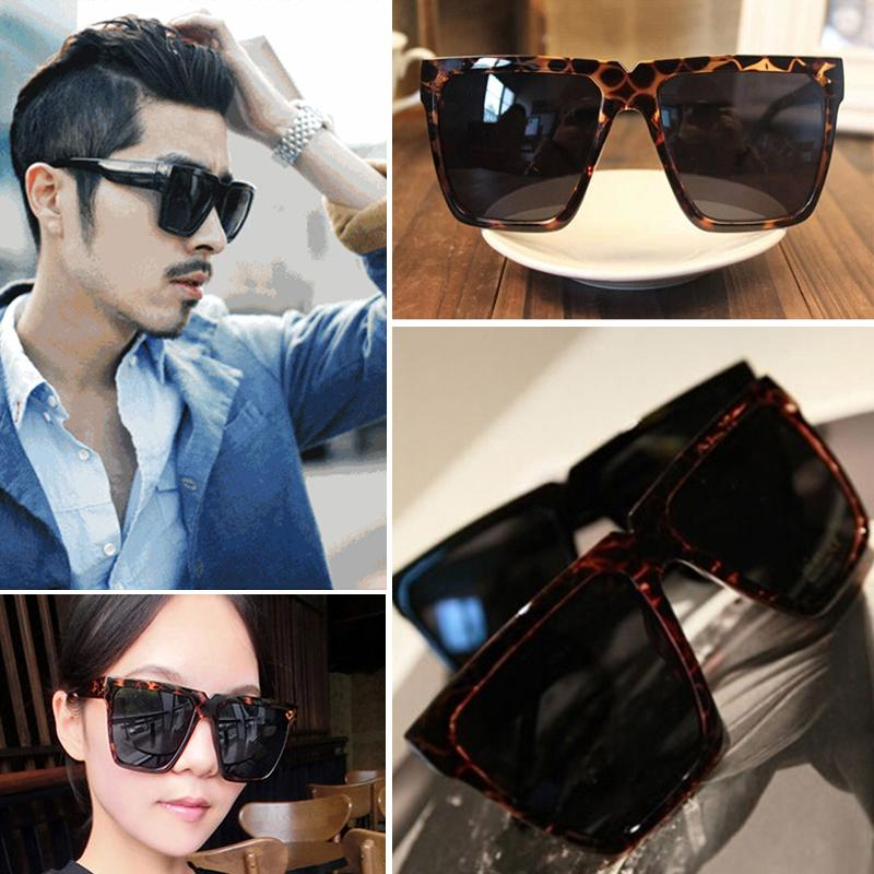 Oversized Wayfarer Sunglasses Men  fashion wayfarer sunglasses men women retro eyewear oversized flat