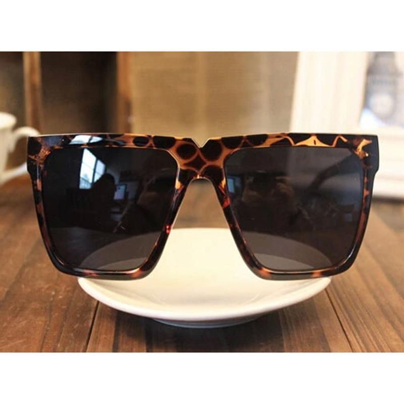 Oversized Wayfarer Sunglasses Men  fashion wayfarer sunglasses men women retro eyewear oversized flat