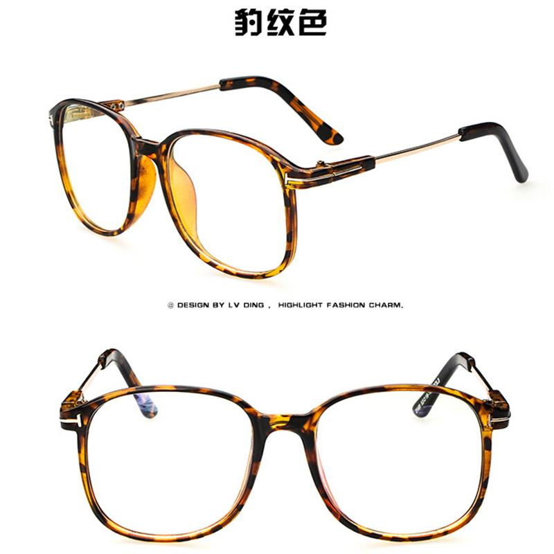 Best Metal Frame Glasses : Fashion Womens Clear lens square Vintage Fashion Metal ...