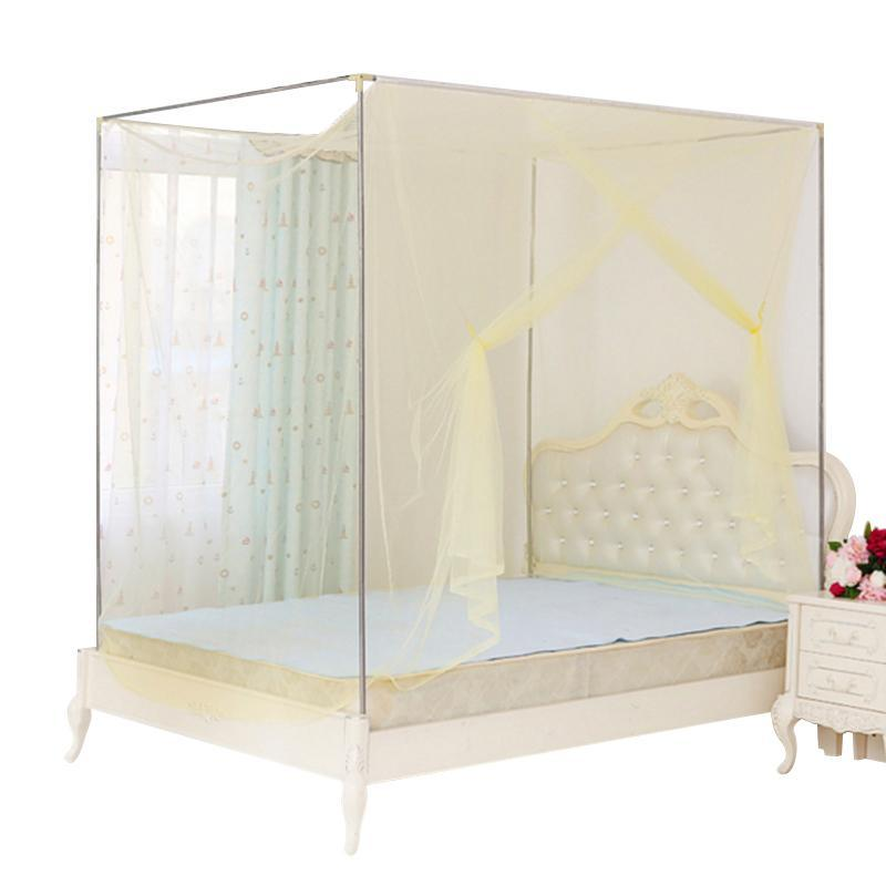 Square Elegant Lace Insect Canopy Netting Curtain Bed Outdoor Mosquito Net Mesh Ebay