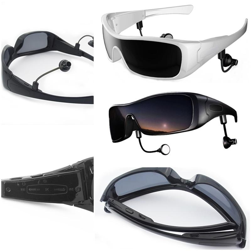 Glasses Frames Earpiece : Bluetooth Polarized Sunglasses Eyewear MP3 Headphone ...