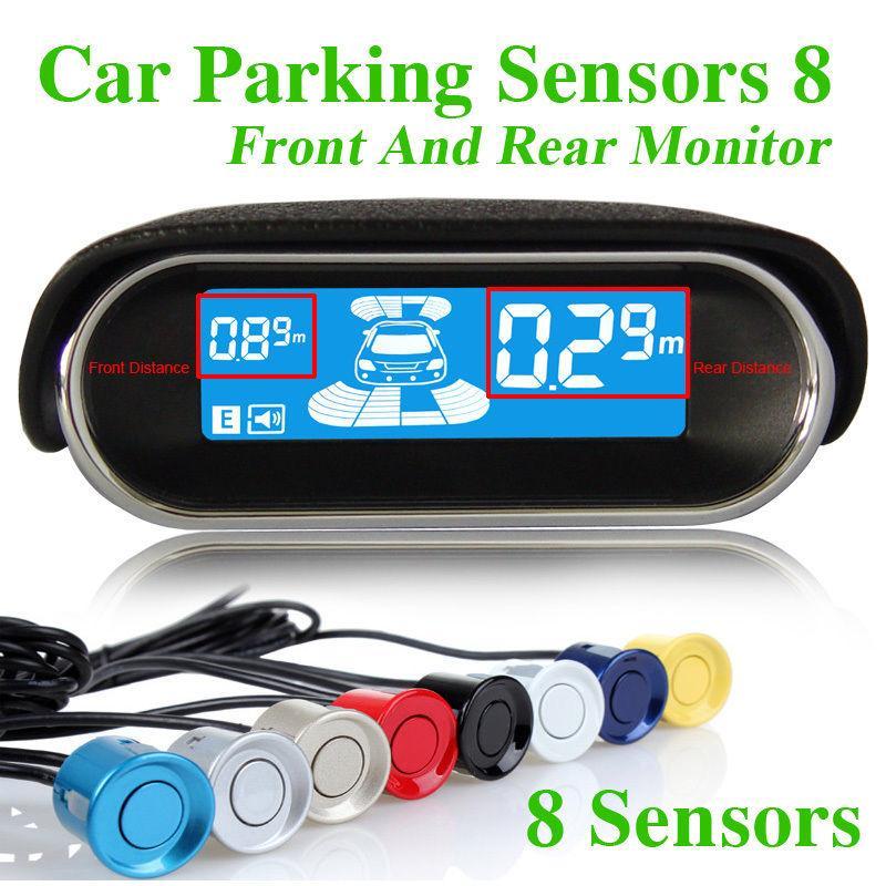Vehicle Parking Sensors Car Parking Reverse Backup Radar 8