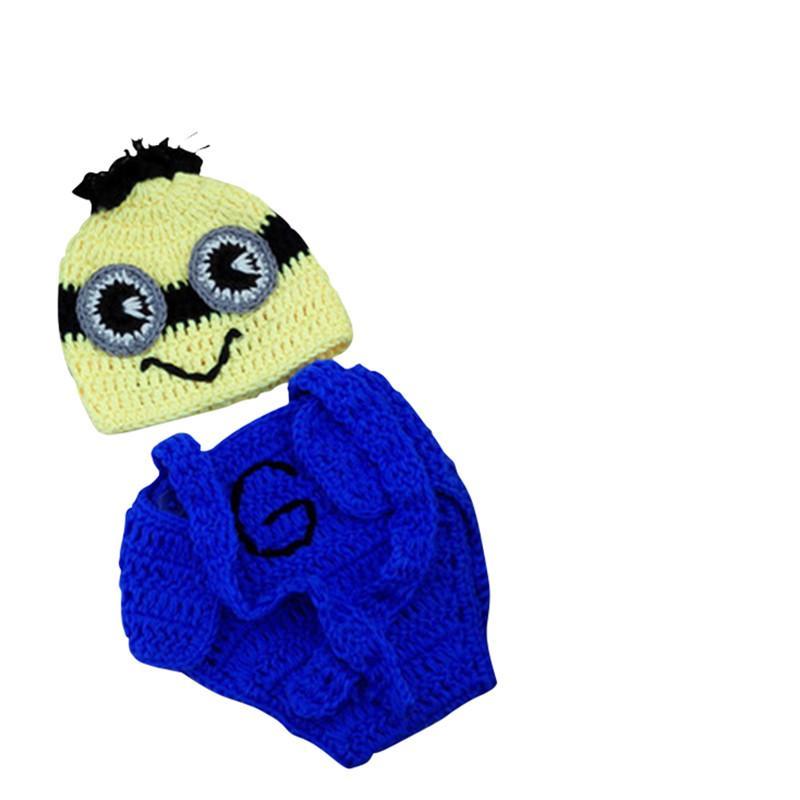 Baby Newborn Infant Crochet Knit Hat Photography Props ...