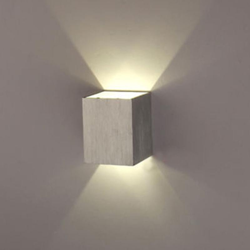Led Up And Down Indoor Wall Lights : White Modern 3W Wall Light Up & Down LED Sconce Lighting Lamp Indoor Outdoor HOT eBay