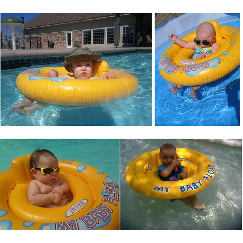 Baby Toddler Swimming Swim Seat Ring Inflatable Pool Aid Trainer Float Ebay