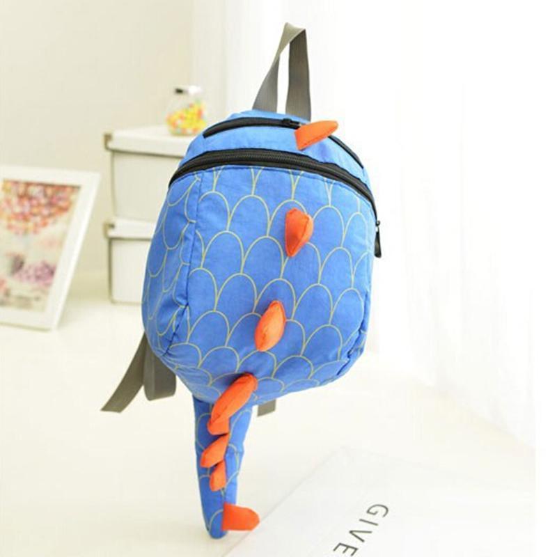 children dinosaur canvas school bag backpack