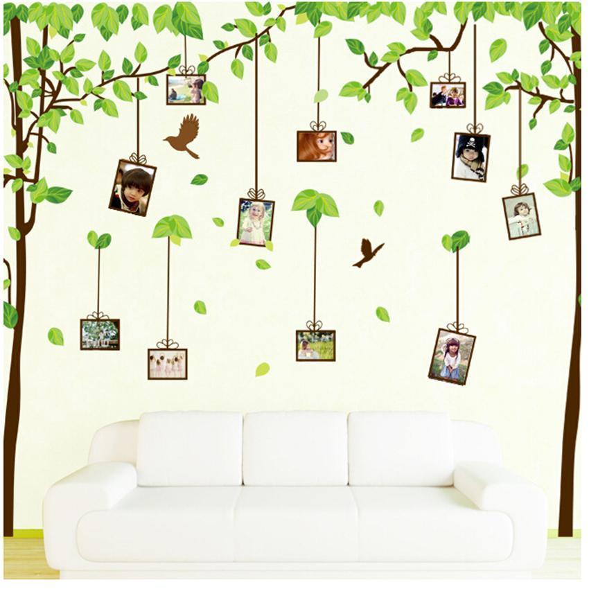Wall Photo Tree Family Frame Large Decor Sticker Art Home