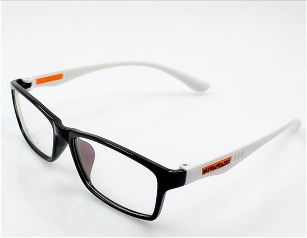 mens rectangular frame fashion glasses no