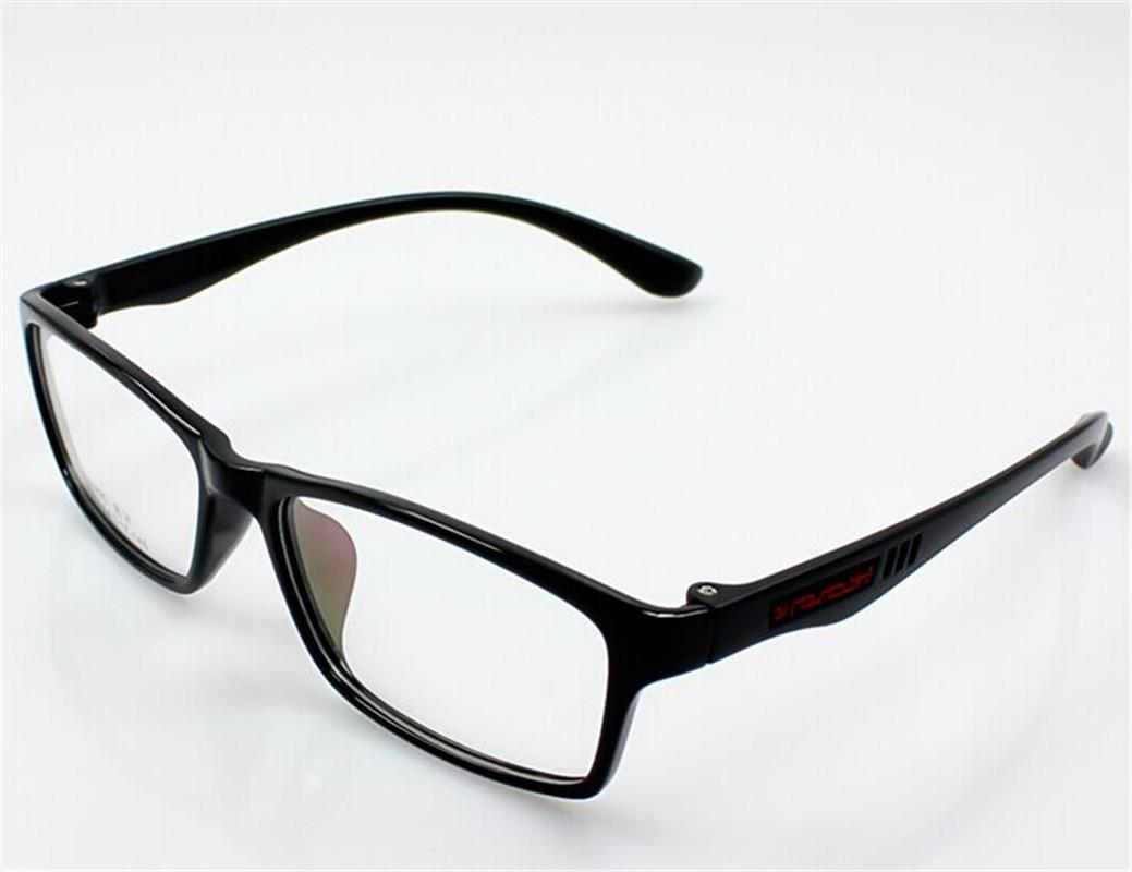 Eyeglass No Frame : Women-Mens-Full-Rim-Rectangular-Frame-Fashion-Glasses-No ...