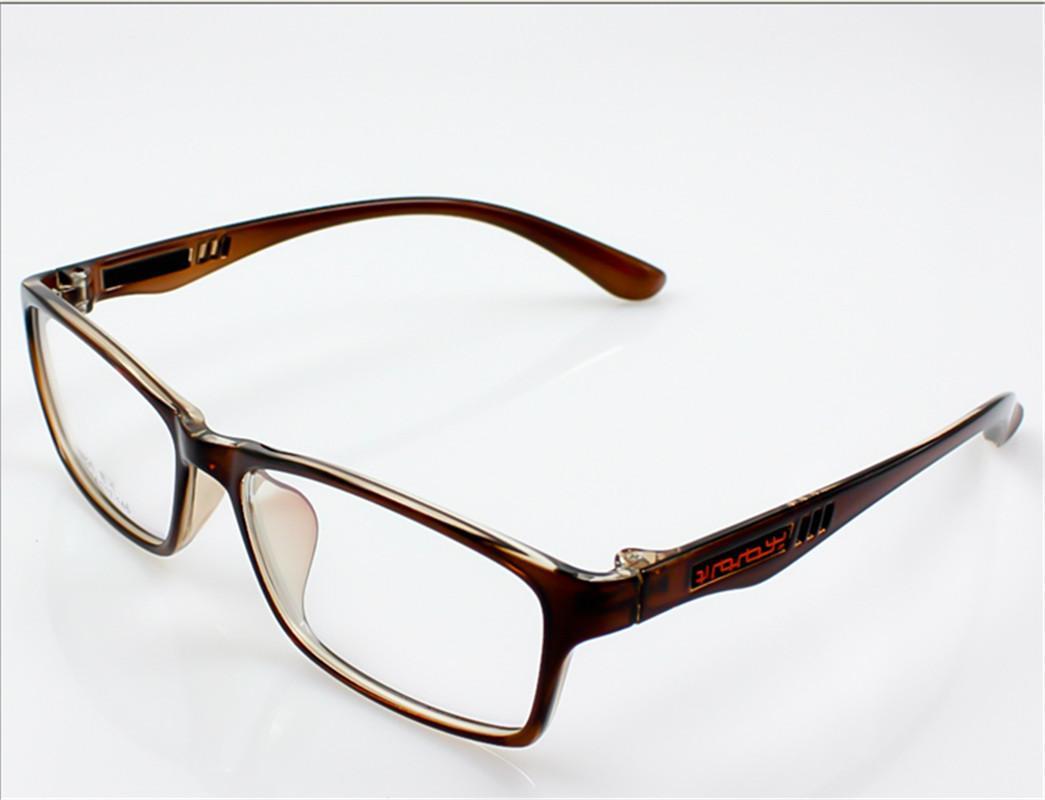 Women-Mens-Full-Rim-Rectangular-Frame-Fashion-Glasses-No ...