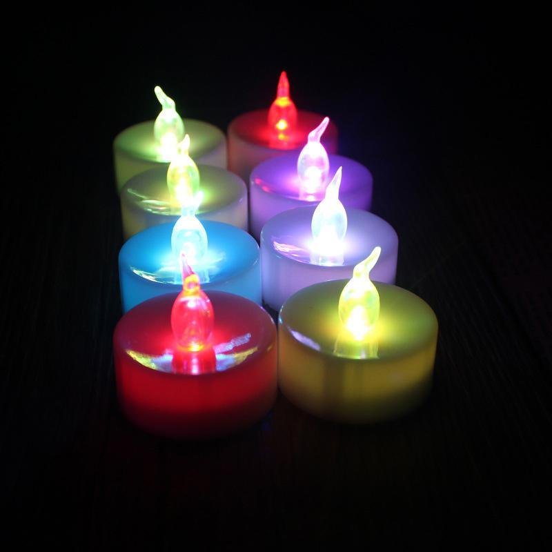 led candles lights flameless battery tea light tealights bathroom lot. Black Bedroom Furniture Sets. Home Design Ideas