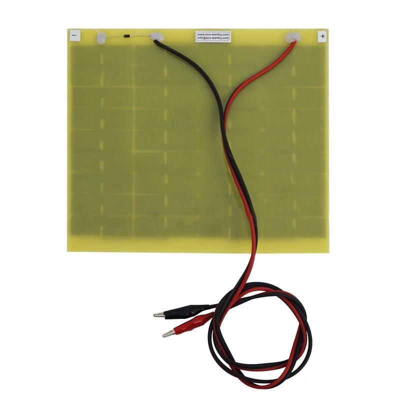 Waterproof 5 Watt 12V Volt Solar Panel Trickle Car Battery Charger Hot ...