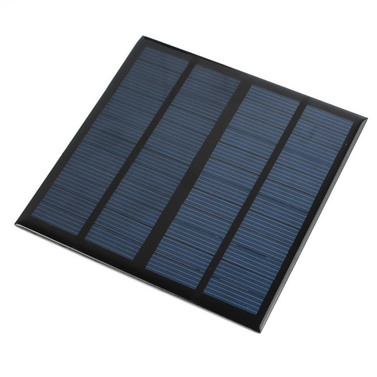 6v 12v 1w 2w 3w Diy Mini Solar Panel Module For Light