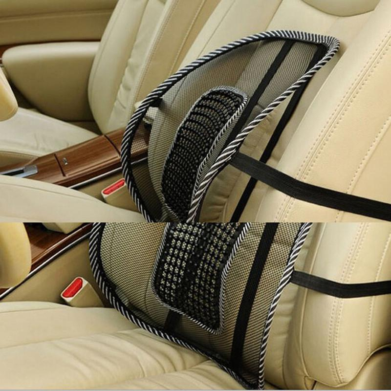 vent massage mini bead mesh back lumber support car chair seat cushion cool pad ebay. Black Bedroom Furniture Sets. Home Design Ideas
