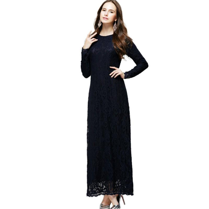 2015 Women Maternity Pregnant Boho Lace Party Cocktail Evening Long Gown Dress