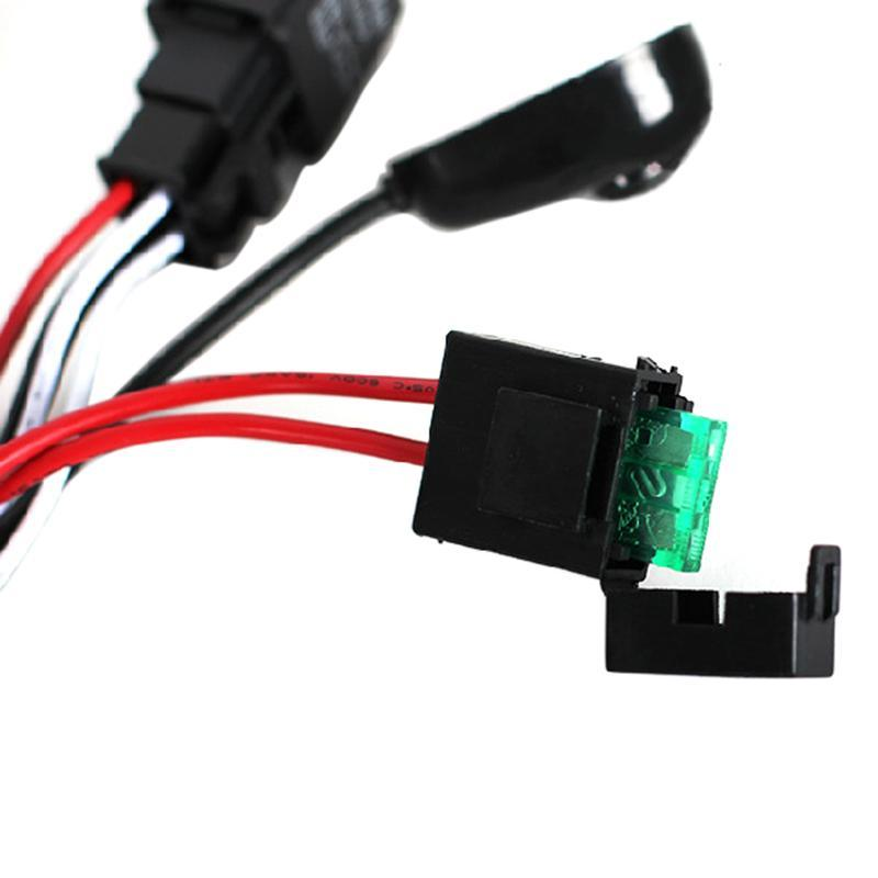 universal wiring kit fog light driving ls wiring harness fuse switch relay ebay