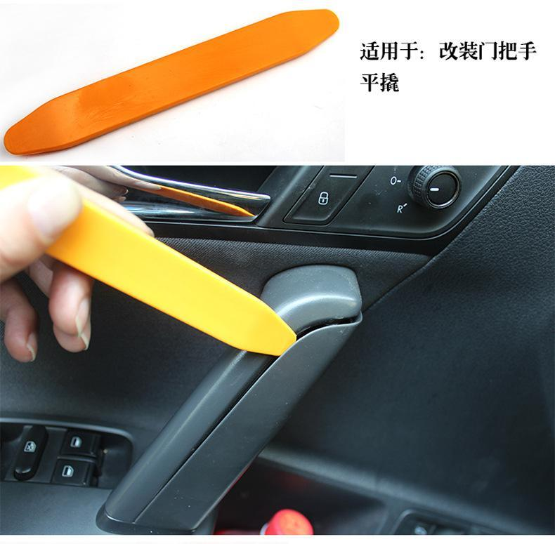 4pcs set car door audio trim interior panel dash installation removal pry tools ebay. Black Bedroom Furniture Sets. Home Design Ideas