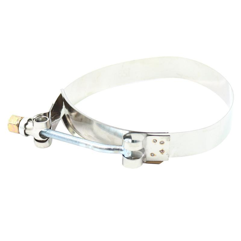 Stainless intercooler turbo air duct hose pipe clamp t