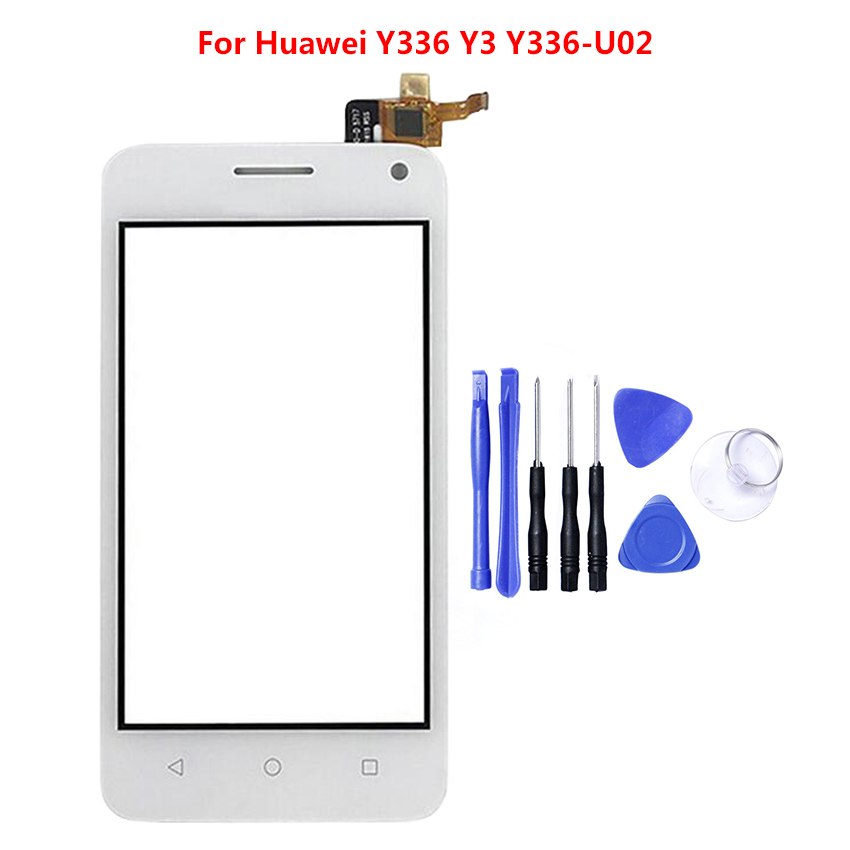 Details about Display Touch Screen Digitizer For HUAWEI Y336 Y3 Y336-U02  digitizer black white