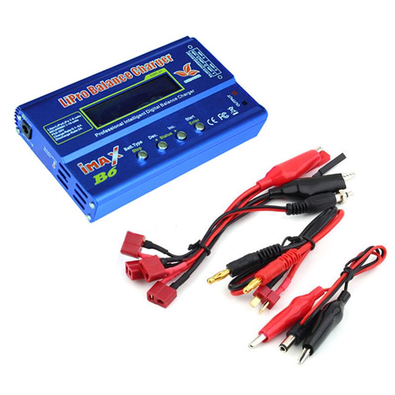 High Quality iMAX B6 LCD Screen Digital RC Lipo NiMh Battery Balance Charger AHS