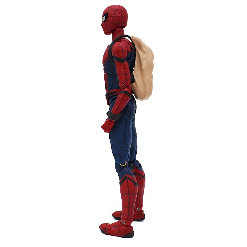 Spider-Man Homecoming Spiderman Super Hero PVC Action Figure Model Kid Model Toy