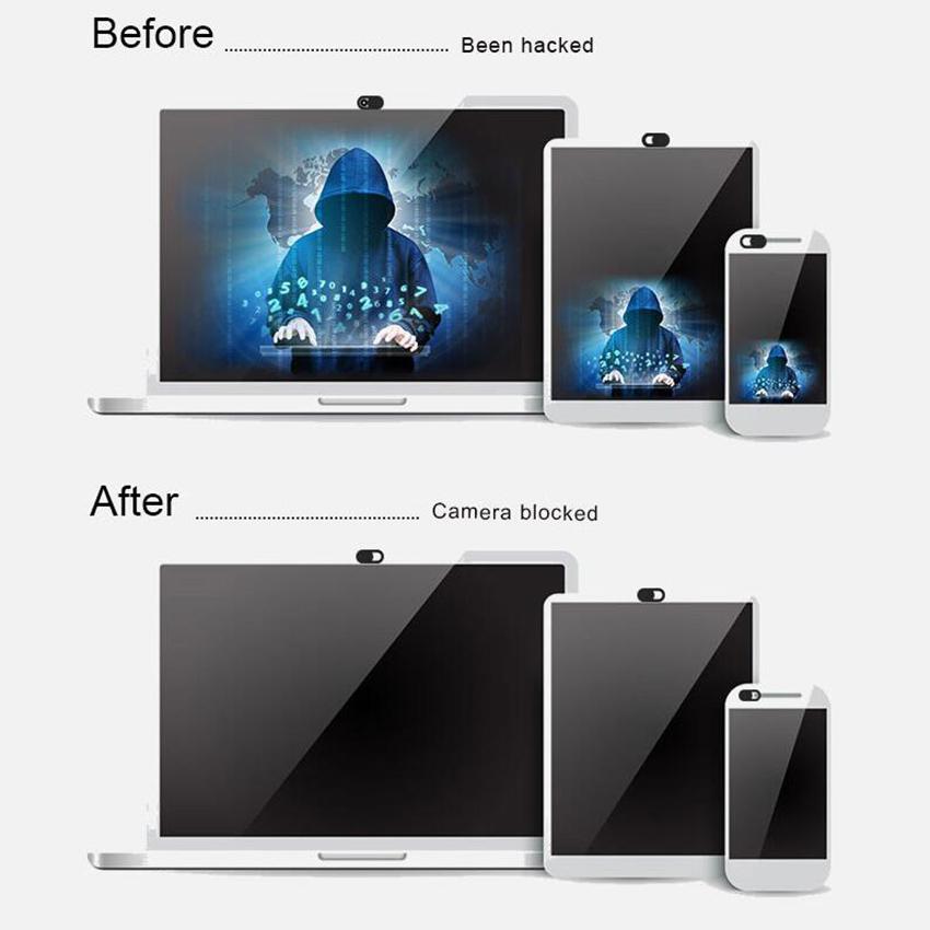 4X 2X Tablet Slider Aluminum PVC Privacy Shield Camera Protector Webcam Cover