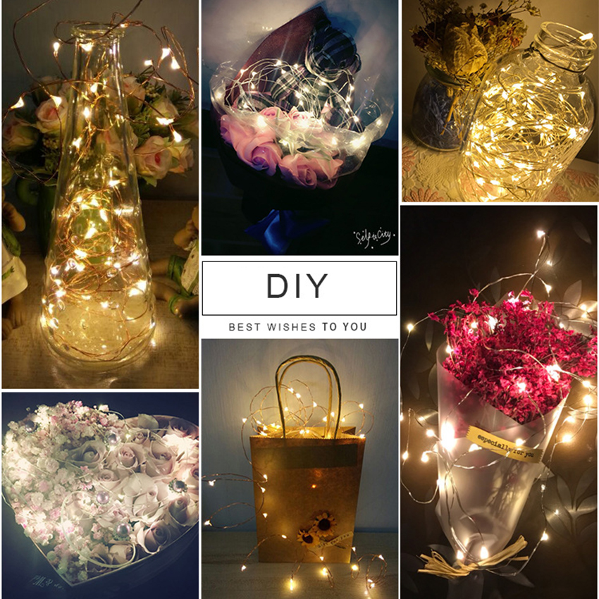 Lights & Lighting Practical Christmas Garden Decor Solar Powered Mason Jar Lid Light Led Fairy String Lamp Clearance Price