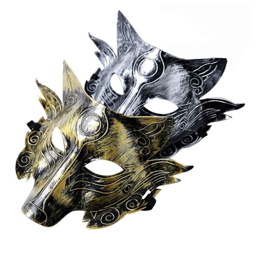 Scary Horror Devil Wolf Head Costume Mask Full Face