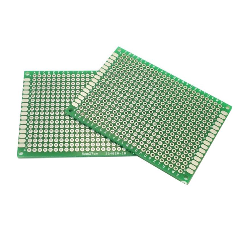 "Prototyping PCB Printed Circuit Board Prototype Breadboard 5x7cm 20pcs 2x3/"""