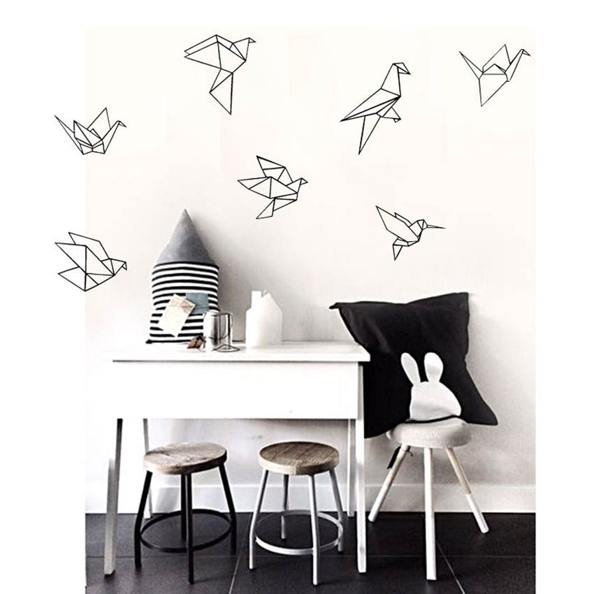 wall stickers home decor vinyl art decals for kids room diy funny