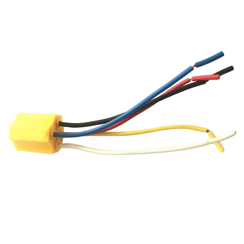 5 Pin Car Vehicle Wires Cable Relay Socket Harness