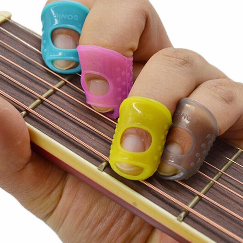 finger picks protector plectrum thumb fingertip cover for bass ukulele guitar ebay. Black Bedroom Furniture Sets. Home Design Ideas